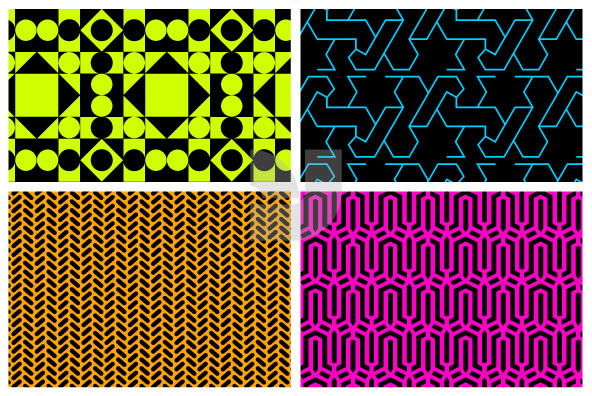 Day Glo Patterns