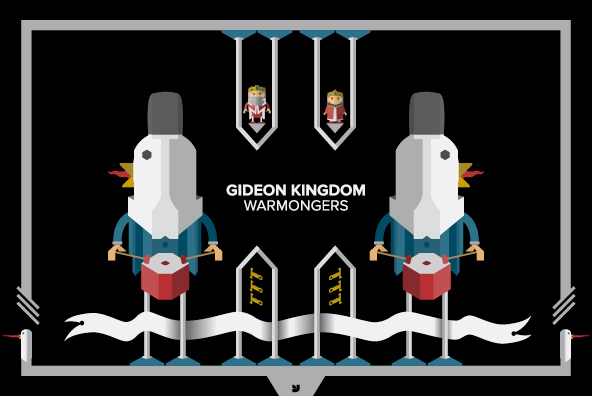 Gideon Kingdom - Warmongers