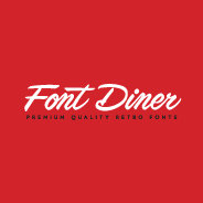 Font Diner Fonts - YouWorkForThem