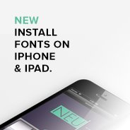 Install Custom Fonts on iPad and iPhone - YouWorkForThem