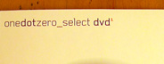 onedotzero Select DVD 1