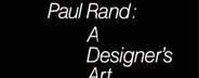 Paul Rand: A Designers Art