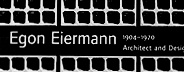 Egon Eiermann: Architect and Designer