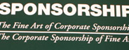 The Fine Art of Corporate Sponsorship