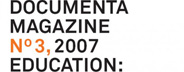 Documenta No. 3: Education: