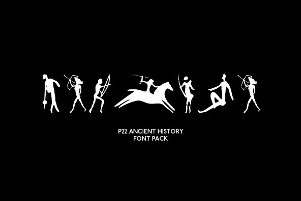 P22 Ancient History Font Pack