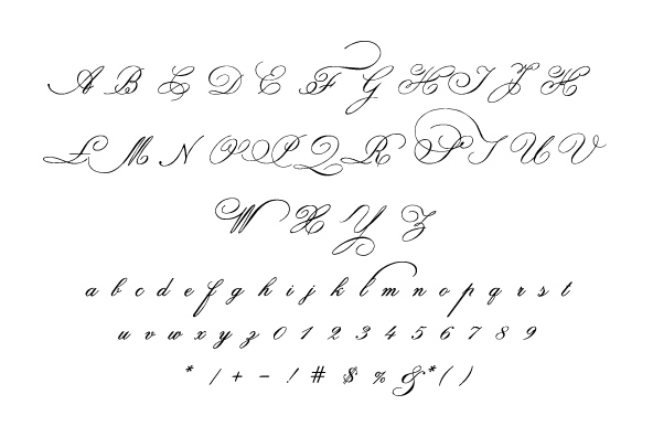 Indenture English Penman by Intellecta Design - Desktop Font, WebFont ...