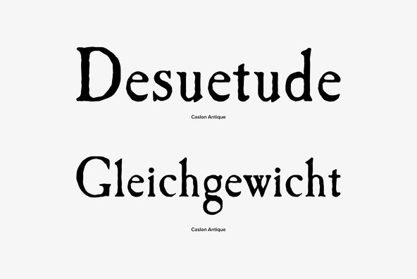 Caslon Antique