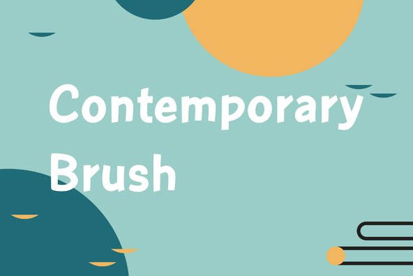 Contemporary Brush