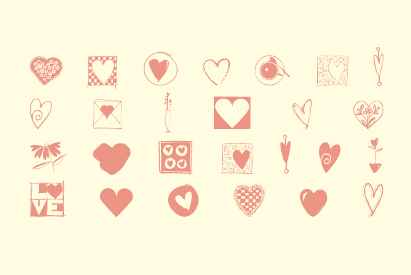 Heart Doodles Too