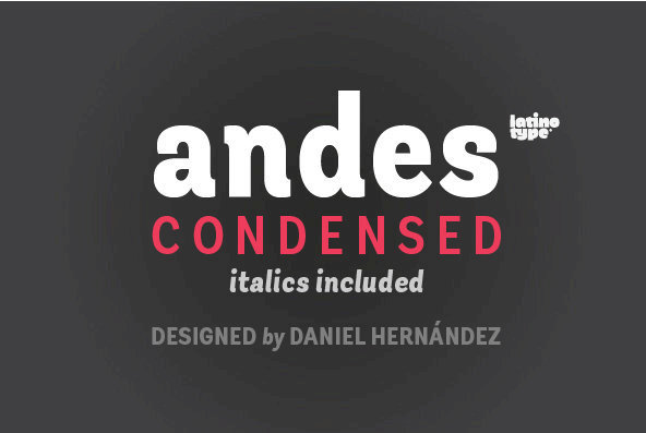 Andes Condensed