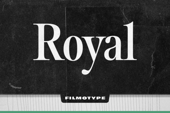 Filmotype Royal