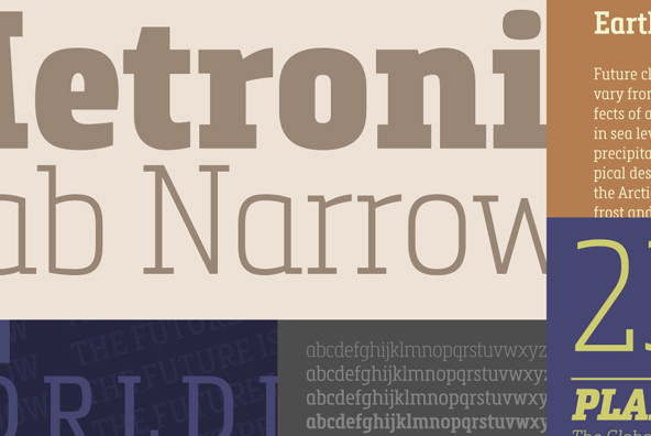 Metronic Slab Narrow