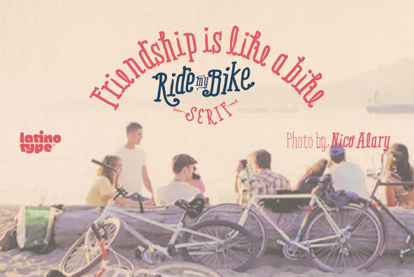 Ride My Bike Serif
